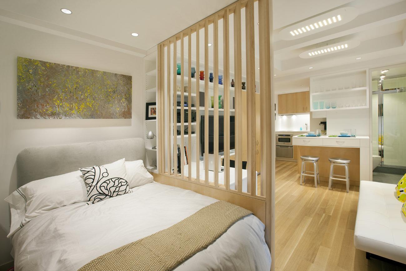 New York City MicroApartment Allen Killcoyne Architects