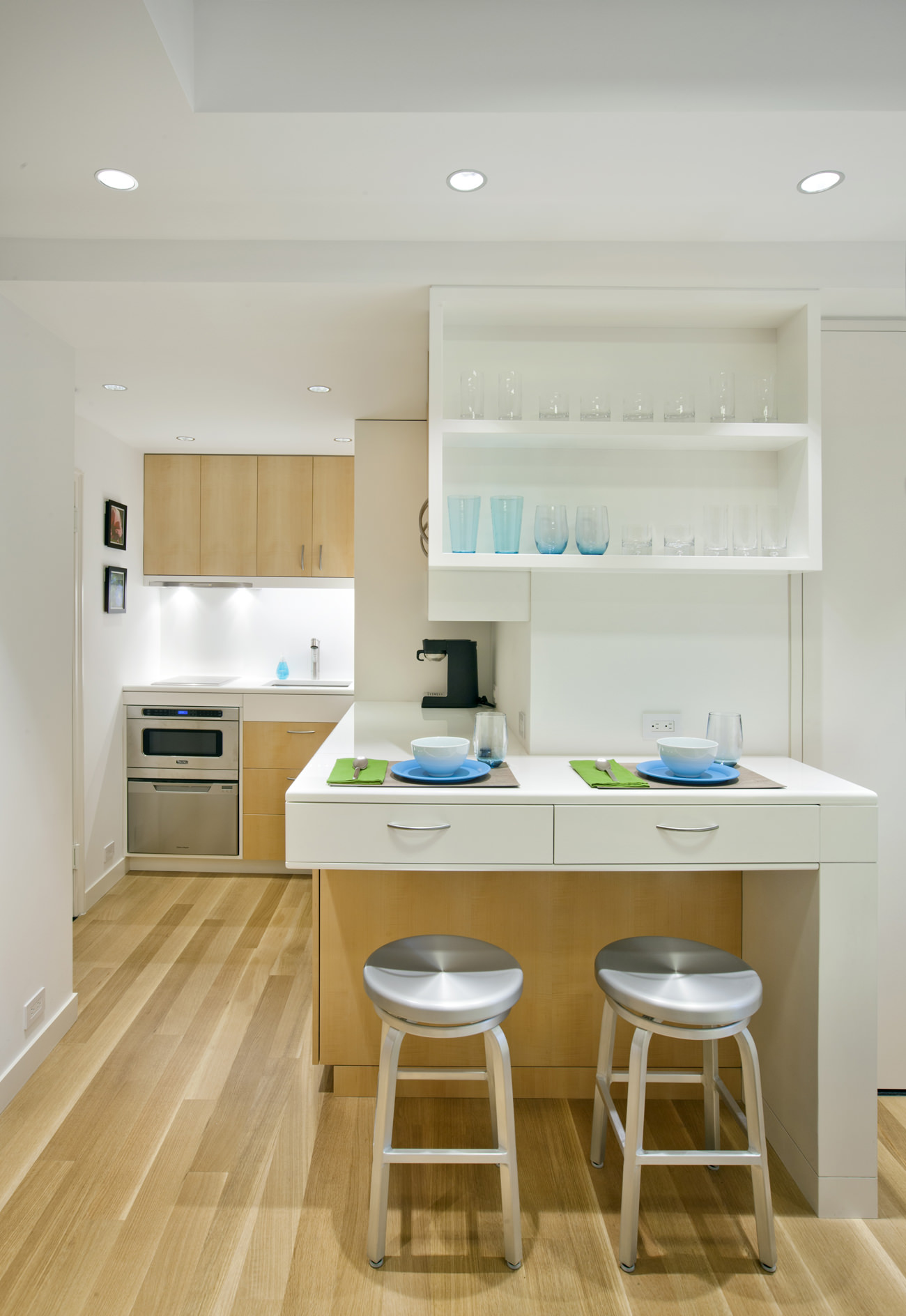 Studio Apartment New York City new york city micro-apartment | allen + killcoyne architects
